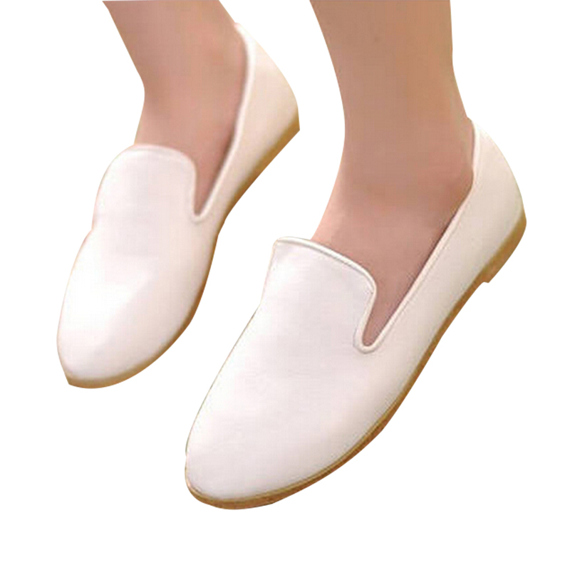 Spring Summer Flats New Brand For Sexy Ladies Flat heel Shoes Fashion Pointed Toe Outdoor Casual Women Dress Single Shoes DX2958
