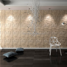 fiber decor wall coating fiber cement 3d board