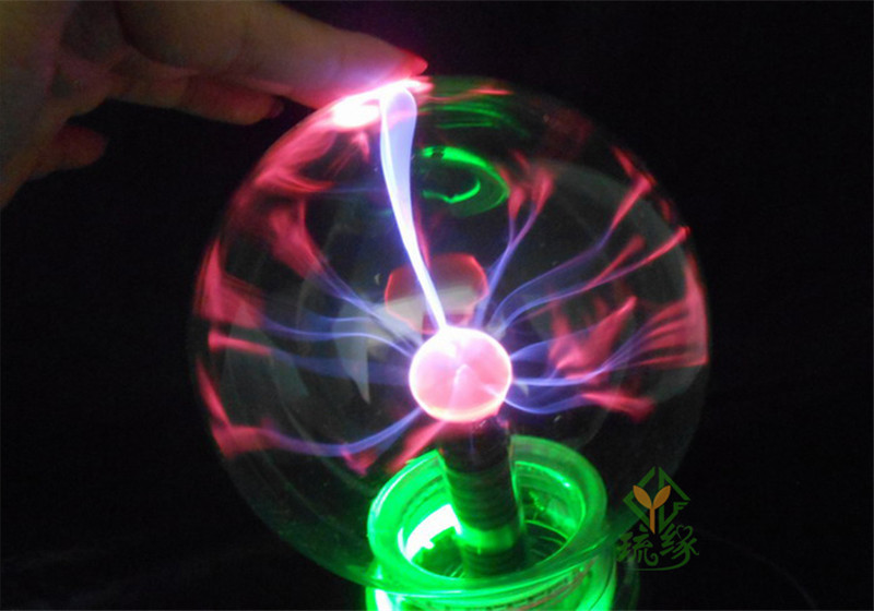 Magic Music Voice touch Control USB/Car Bola Plasma Ball Lamp Neon Sphere  Negative Ion Generator Light Lightning