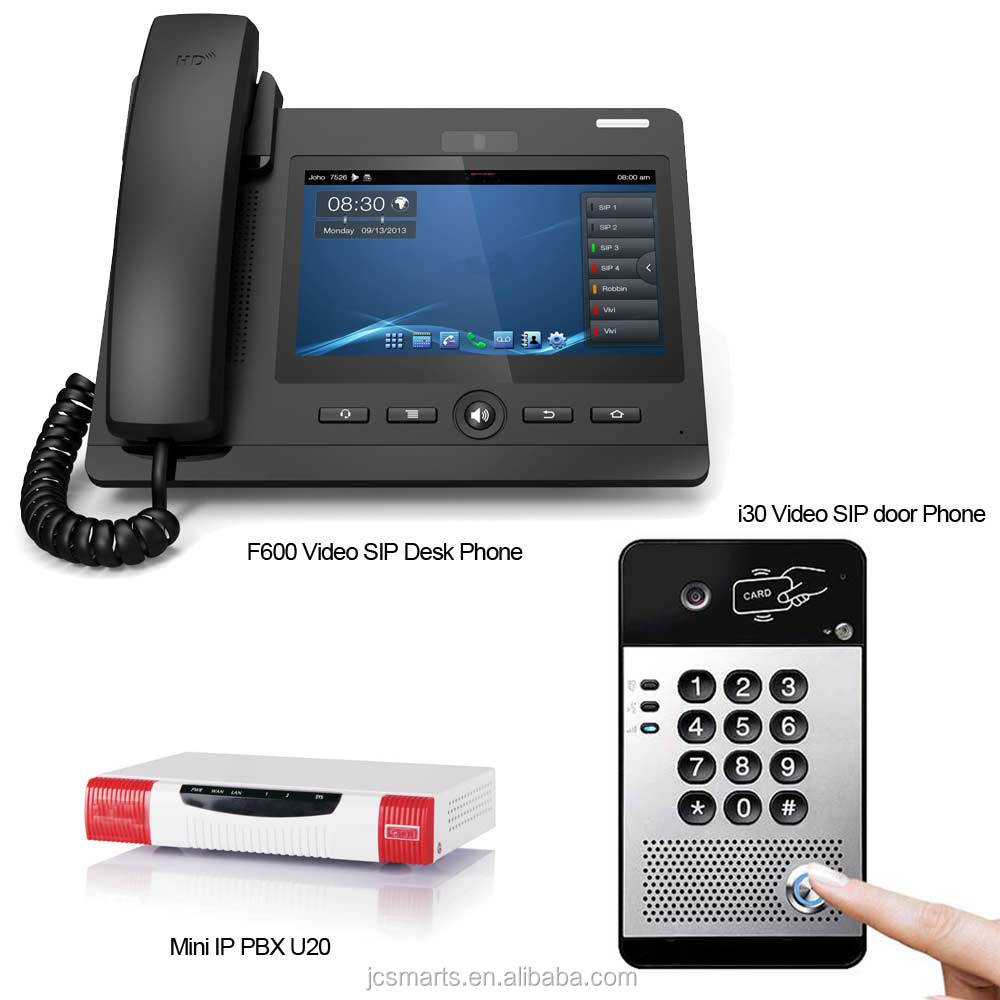 VOIP intercom telephone door intercom with relay for office door access control