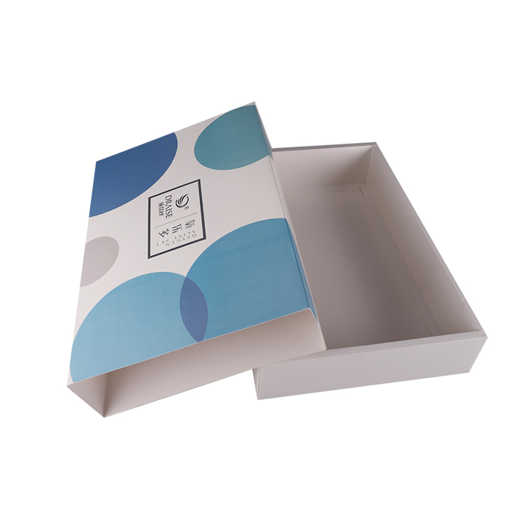 Wholesale new design folding cosmetics paper packaging gift box with sliding cover