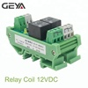 GEYA 2 Channel Relay Module T73 AC/DC 12V 24V AC230V Relay Interface