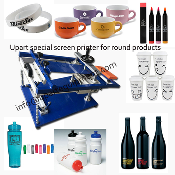 desktop cylnider silk screen printing manual