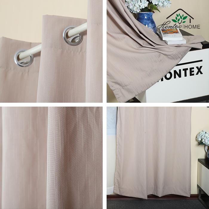 Paneles De Cortinas Opacas Para Dormitorio Aislamiento Termico Para Tratam...