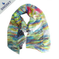 Wholesale best quality fashionable scarf muffler for girls