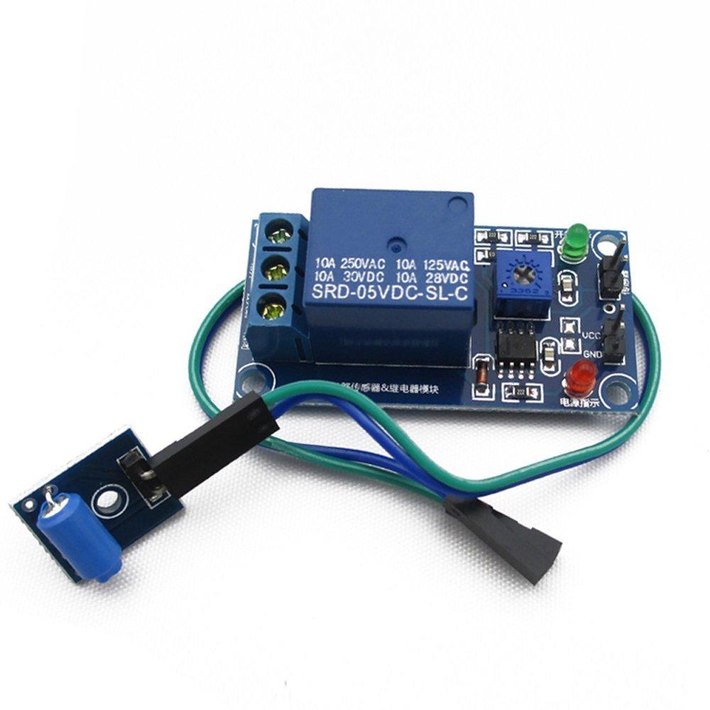 Piezo Vibration Sensor DIY Maker Open Source BOOOLE SeeedStudio