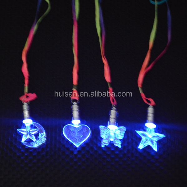 Fashion light necklace/led necklace for party decoration/Creative child necklace