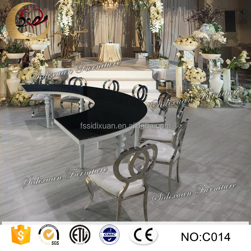 Half Moon Glass Dining Table  Half Moon Glass Dining Table Suppliers and  Manufacturers at Alibaba comHalf Moon Glass Dining Table  Half Moon Glass Dining Table  . Half Moon Glass Dining Table. Home Design Ideas