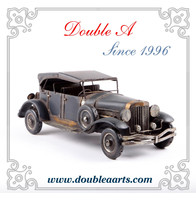 Wholesale vintage old car model antique old car model handmede home decor