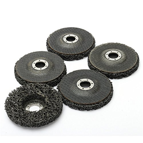 100mm Rust /& Paint Varnish Removal Polycarbide Abrasive Stripping Disc 6mm Shank