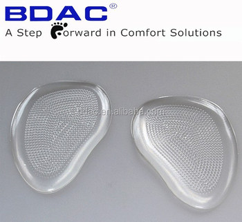 adhesive gel walking insole as shoe pad front foot insoles metatarsal insoles for pain