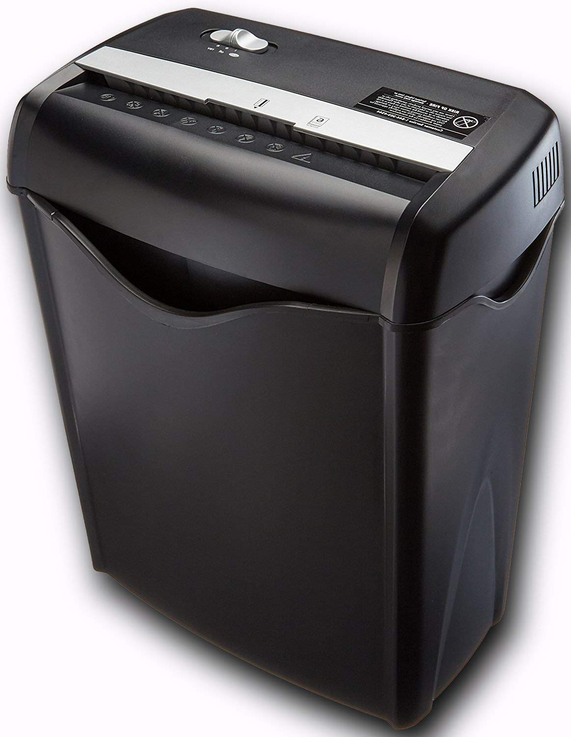 Cross Cut Paper Credit Card Shredder 6 Sheet 7/32 by 1-27/32 inches 8.7 inch Wide Paper Feed 3.8 Gallon Bin Thermal Protectio Auto Shut off 2 Minute Continuous Run Time 30 Minute & ebook by big_store