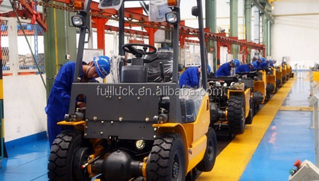 Price low SEENWON diesel LG 1.5 t forklift with nice quality