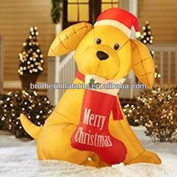 outdoor christmas decorations dog - Outdoor Lighted Dog Christmas Decorations