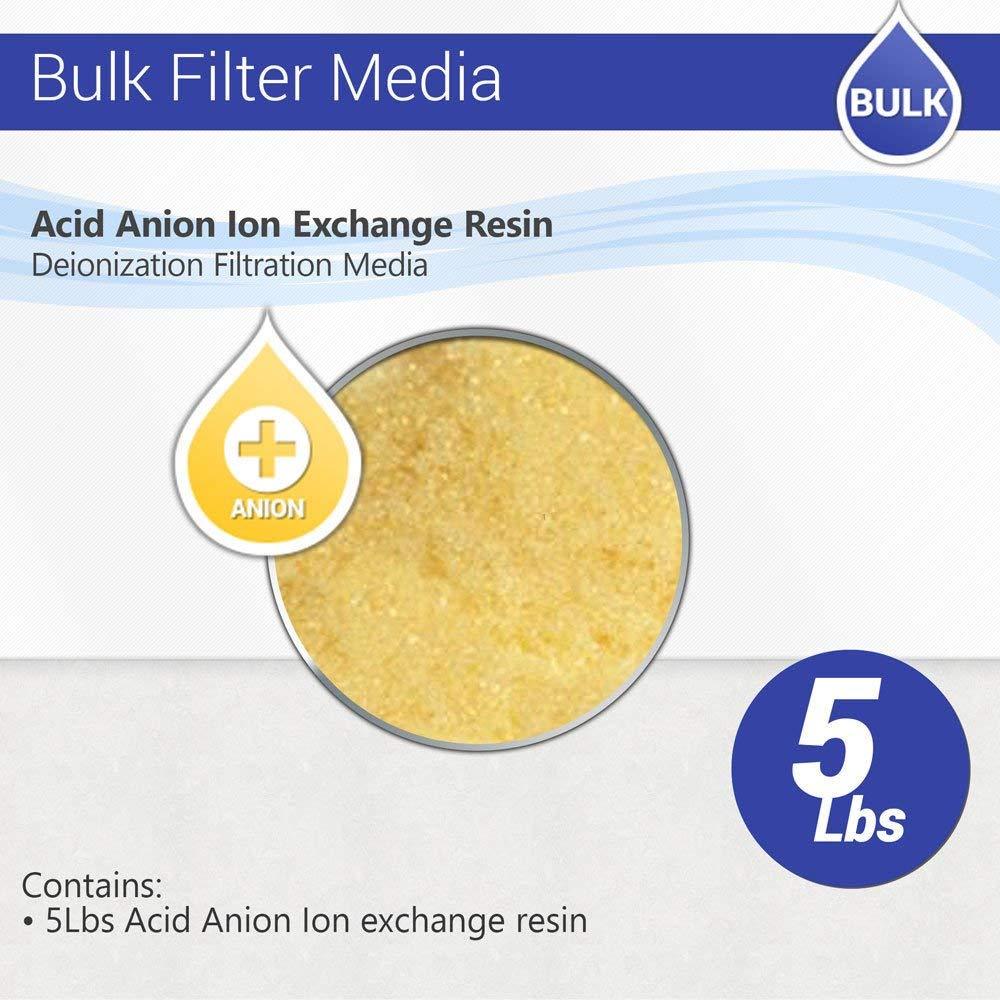 20 lbs Resintech MBD-30 Color Changing Bulk DI Resin for Aquarium Filters RODI