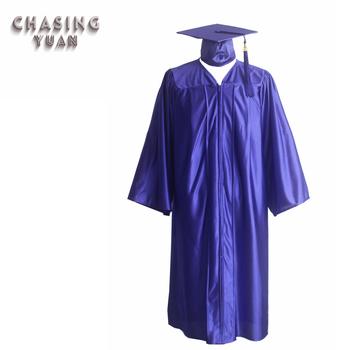 5c116c8d4 Graduación de la escuela secundaria vestido con tapa en púrpura brillante