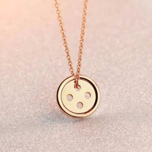 Simple stainless steel korea / nepal / maori pendant necklace jewelry