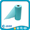Red Blue Yellow Kitchen Use Nonwoven Spunlace Perforated Wiping Roll