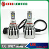 cars led headlights, All in one 2000lm 20w h7 cars led headlights