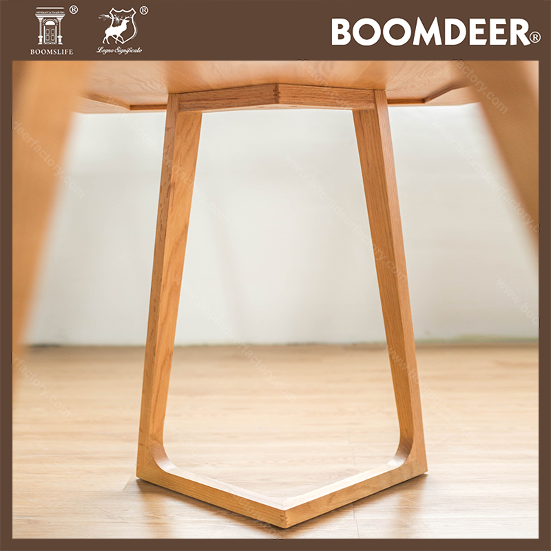 product-BoomDear Wood-Hot Selling Simple Modern Designs High Quality Solid Wood Dining Table-img-1