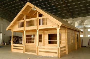 Popular Prefab Wood Log House Wood Log House Prefabricated Low Price  Natular Wood Houses