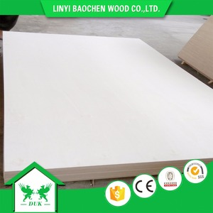3mm to 18mm bleached poplar plywood to Vietnam