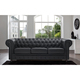 cheap chesterfield leather sofa set