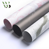 Customized multi color marble texture wrapping paper for flowers packaging