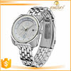 High quality wholesale big silver watch for business dress