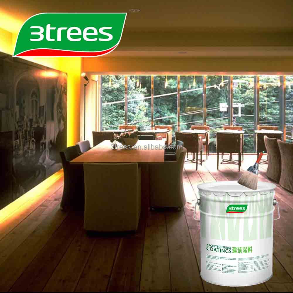 3TREES White Color PU Paint Sealer For Wood Furniture
