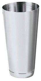 New 26 oz. (Ounce) Large Cocktail Shaker, Martini Shaker, Malt Milkshake Cup, Polished Stainless Steel, Commercial Grade (1, A)