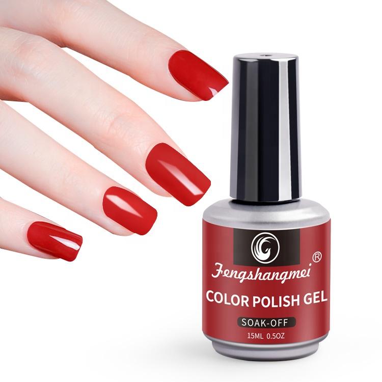 FSM 15ml UV LED Curing Color Gel Nail Polish