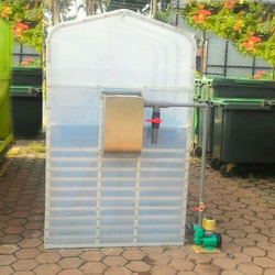 Home Use Portable Assembly Membrane Biogas Plant to Generate Electricity