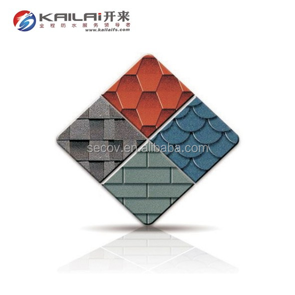 Southeast Asia pupular asphalt roof tile shingle