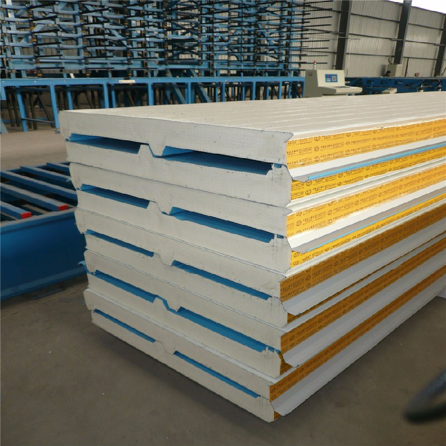 Insulated Metal Wall Panel Pur Pir Panel Sandwich Roof