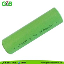 high quality 18650 3.7V 2600 mAh OEM Li-ion Battery cell