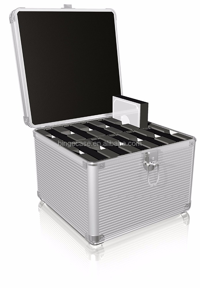 Aluminum Suitcase for Protecting HDD