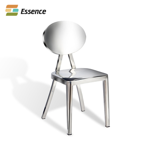 Tianjin Cheap Modern Leisure Polishing Dining Stainless Steel Kong chair
