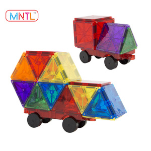 MNTL-Best sales 100 pieces magnetic building tiles toy connecting blocks kids puzzle toys from China