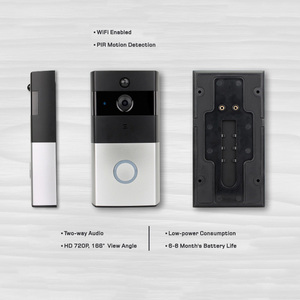 Wireless peephole door eye camera for smart home doorbell monitor digital door viewer
