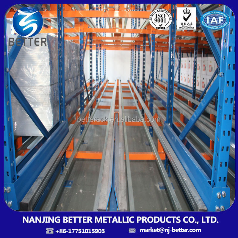 Automated Warehouse Storage High Density Cold Storage Racking System