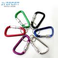 Wholesale Hanging Keychain Gadget Lock Key Ring D Shape Climbing Carabiner High Strength Key Camping And