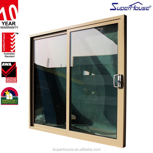 Amercian Florida Standard Hurricane Impact Aluminium Laminated Glass Lowes  Sliding Door Main Door