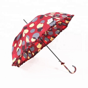 RST color lace polka dot umbrella bulk buy from china straight lady vogue umbrella oem vogue lace umbrella