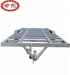 Mobile Home Trailer Galvanized Steel Frame Chassis