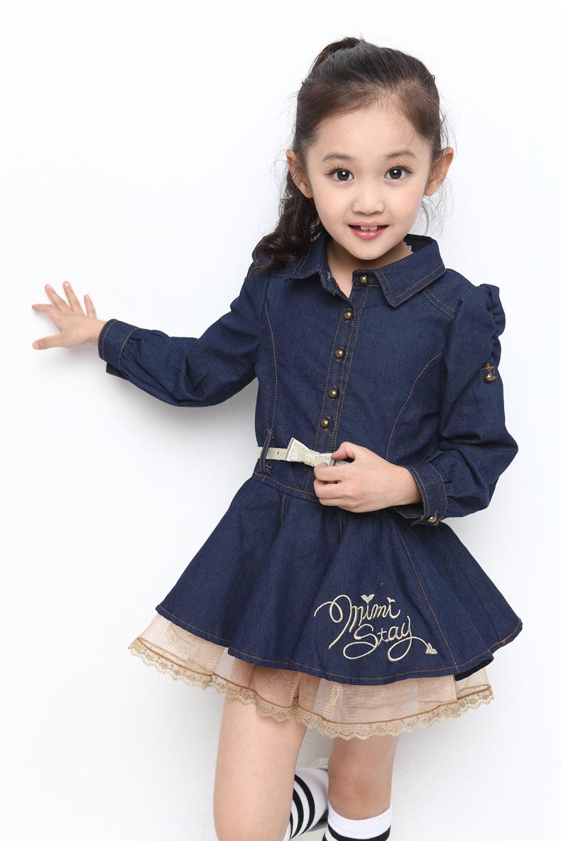 f9cbb66f6ff1 Cheap Girls Denim Dress Size 8