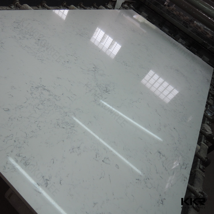 indoor decor material artificial engineered quartz wall stone