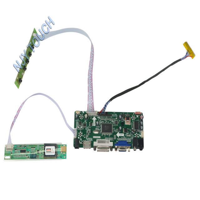 HDMI+DVI+VGA LCD LED lvds Controller driver Board Kit for CLAA154WB08A