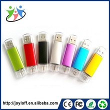 New Product Dual Double Plug Interface Otg Mobile Phone Pc High Speed Usb Pendrive