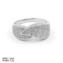 RZQ-0112 natural theme leaf shape jewelry ring